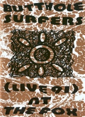Butthole Surfers • Live at the Fox Image Cover