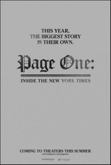 Page One: Inside the New York Times Image Cover