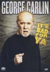 George Carlin... It's Bad for Ya! Image Cover