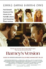 Barney's Version Image Cover